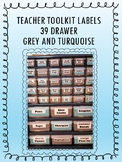 39 Drawer Toolkit Labels