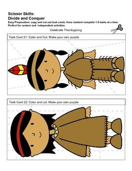 Thanksgiving Worksheets for Kindergarten