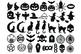 42 Halloween Earrings SVG, Halloween Earrings Template Bundle SVG.