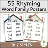 39 Rhyming Word Family Charts