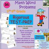74 Test Prep Multi-Step 5th/6th grade Word Problems