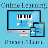 39 Total Templates Unicorn Theme Online Teaching Keyboard
