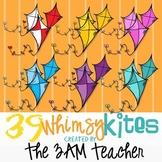 39 Whimsy Kites: Graphics / Clip Art