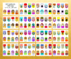 396 Animal Printable Gift Tags, Printable Stickers, Printable Cupcake Toppers