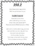 398.2 Poem/Rap - Fairy Tales, Folk Tales, etc.