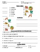 3A & 3B Realidades Level 1A vocabulary and grammar practice