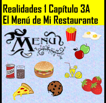 3A Realidades 1 Create a Menu Activity
