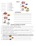 3B Realidades 1A worksheets cena