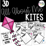 3D All About Me Kites: Flying into the School Year!