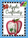 3D Apple Craftivity