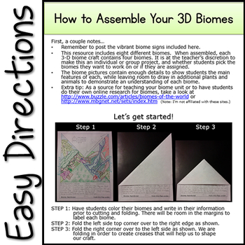 3D Biomes Project