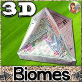 3D Biomes Quadrama & Posters