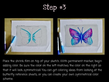 Art Lesson for Kids: 3D Butterflies, A Lesson on Symmetry