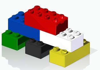 3D CAD Building Block Tutorial