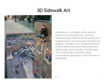 3D Chalk Art PPT