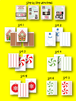 Christmas Decorations - Classroom Decorations - Fun Holiday Activity
