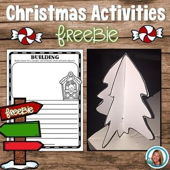 Christmas Activities   3D Tree