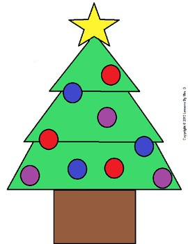 3D Christmas Tree Counting Game