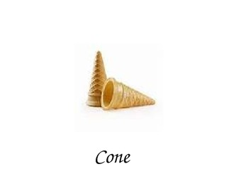 3D Cone Vocabulary Power Point