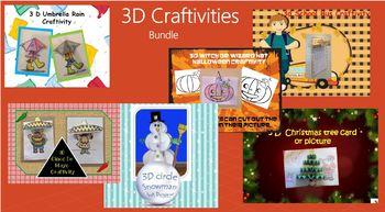 3D Craftivity Bundle