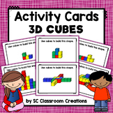 3D Cube Pattern Cards (Task Cards)