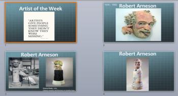 3D Design Artist of the Week PowerPoint