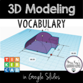 3D Design & Modeling Vocabulary