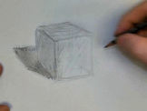 3D Drawing of a Cube With Shading Learn To Draw a Cube 3D