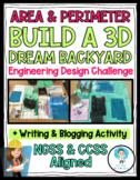 NGSS- (ETS1)-Dream Backyard:Engineering Design Challenge- Area & Perimeter