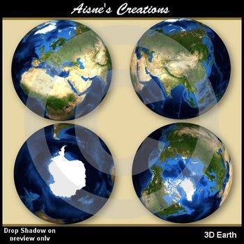 Continents - Globe