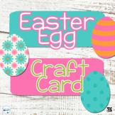 3D Easter Egg Card Craft