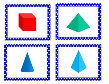 3D Shapes (3D Figure) Memory