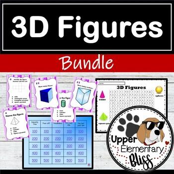 3D Figure/Shape Geometry Bundle