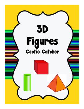 3D Figures - Cootie Catcher