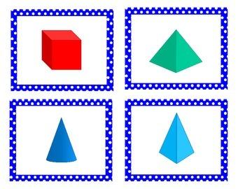 3D Shapes (3D Figures) Game Bundle