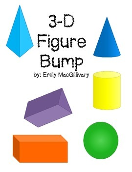 3D Shapes (3D Figures) Game Bundle