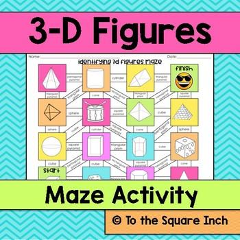 3D Figures Maze