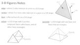 3D Figures Notes