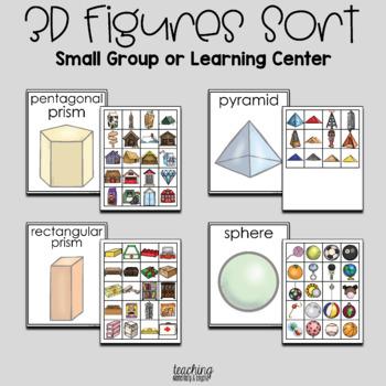 3D Figures Sorting Activity