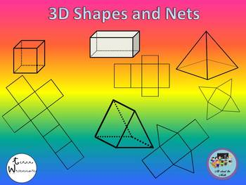3D Figures and Nets