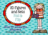 3D Figures and Nets Fold & Flip