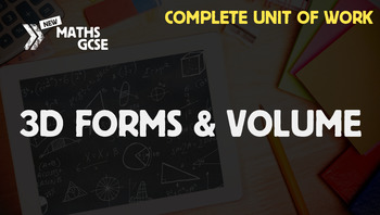 3D Forms & Volume - Complete Unit of Work