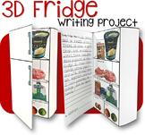 3D Fridge - Writing Project (Editable!)