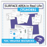 3D GEOMETRY IN REAL LIFE Surface Area of Cylinders