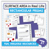 3D GEOMETRY IN REAL LIFE Surface Area of Rectangular Prisms