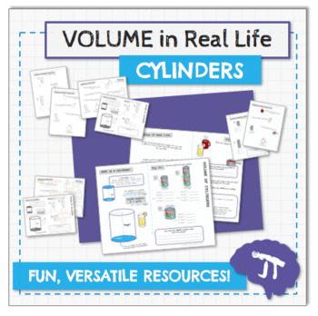3D GEOMETRY IN REAL LIFE Volume of Cylinders