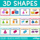 3D Shapes | Posters