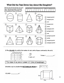 3D Geometric Shapes Guided Notes