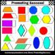 3D Geometric Solids, Shapes Clip Art, Geometry Clipart Prisms SPS