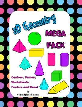3D Shapes Centers and Activities for Geometry